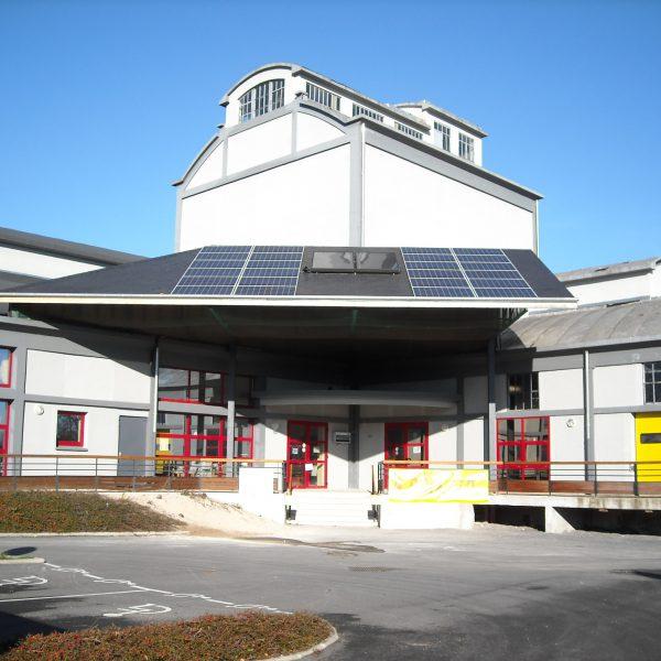 Toiture photovoltaïque à Attigny